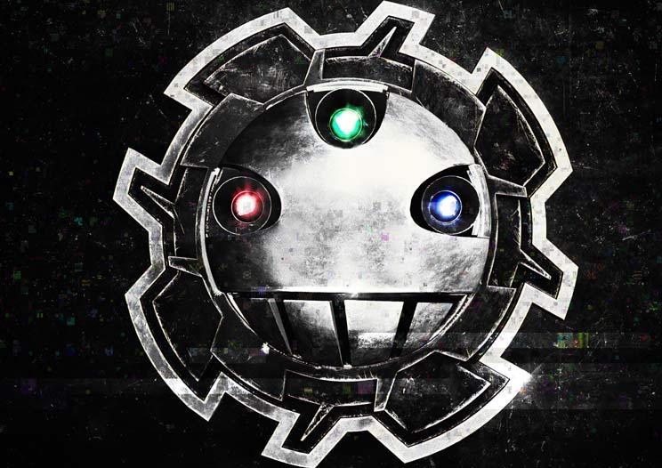 Brojka Logo - Mehanička 3D animacija