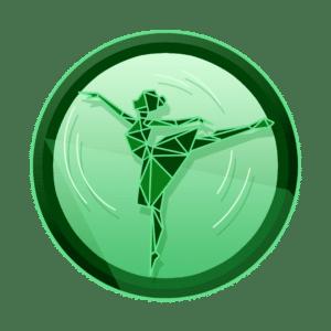 hologramska balerina u pokretu, iluzija pokreta, 3D animacija, video produkcija, produkcija video sadržaja