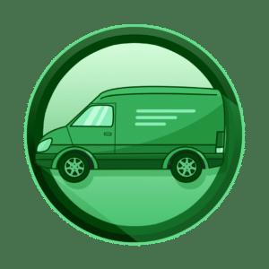 Dostavni kamion, transport i predaja maskota, izrada maskota, kreativna agencija