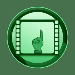 ruka sa kažiprstom u zraku na filmskoj traci, dočarajte bitno, promotivni film, video produkcija, produkcija video sadržaja