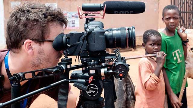 redatelj koji snima na lokaciji u Camerunu, IAEA, reportažno dokumentarni pristup, promotivni film, video produkcija, produkcija video sadržaja
