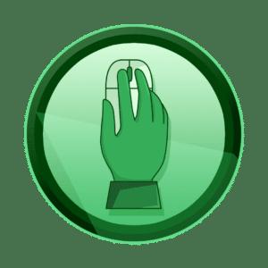ruka koja upravlja kompjuterskim mišem, interaktivni sadržaj, art direction, kreativna rješenja, kreativna agencija