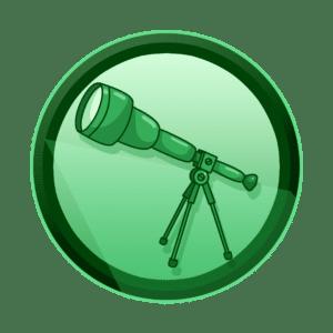 teleskop za astronomsko promatranje, povećajte vidljivost, promotivni film, video produkcija, produkcija video sadržaja