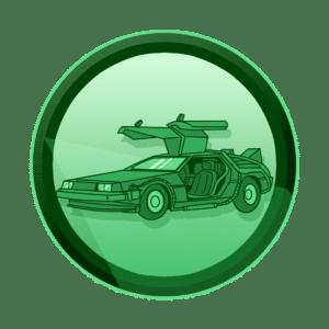 DMC DeLorean auto iz filma Back to the future, putujete kroz vrijeme, virtualna i proširena stvarnost, VR, AR, XR, interaktivan sadržaj, interaktivni sadržaji