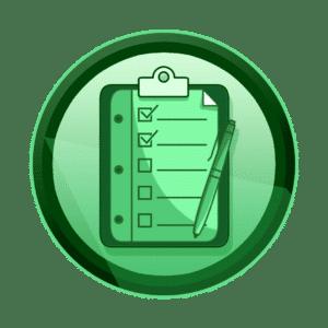 check lista, kontrolna lista ili provjerni popis po stavkama, testiranje, razvoj aplikacija i igara, interaktivan sadržaj, interaktivni sadržaji