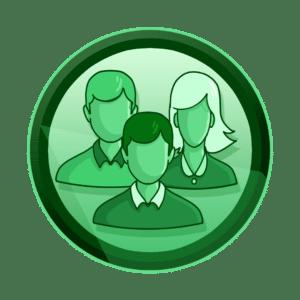 siluete dvije muške i jedne ženske osobe, veći anganžman korisnika, razvoj aplikacija i igara, interaktivan sadržaj, interaktivni sadržaji